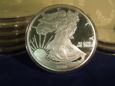2000 Proof Silver Eagle ONE TROY POUND .999 fine silver 12 TROY OUNCES
