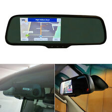 5 POLLICI TOUCHSCREEN MIRROR MOUNT BT Navigatore Satellitare GPS Auto Monitor Con Costruito In Dash Cam