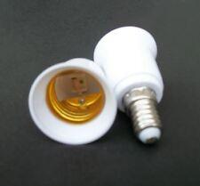 Hot 5PCS E14 to E27 Base LED Light Lamp Bulb Adapter Converter Screw Socket SWUK