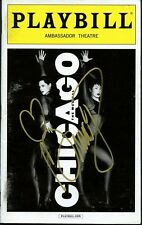 CHICAGO In-person Signed Playbill By BRANDY NORWOOD