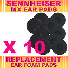 10 Replacement Ear Phone Foam Pad Sponge Sennheiser MX