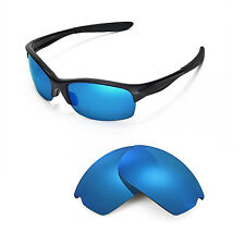 New Walleva Polarized Ice Blue Replacement Lenses For Oakley Commit SQ