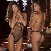 Women Sexy Lingerie Lace Nightwear Underwear Sleepwear Babydoll G-String