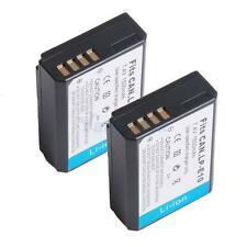 2 PCS 1500mAh LP-E10 LPE10 Battery for Canon Rebel T3 EOS 1100D Kiss X50