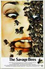Savage Bees Poster 01 A3 Box Canvas Print
