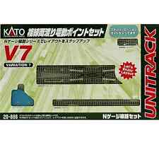 Kato 20-866 Unitrack V7 Double Crossover Track Set - N