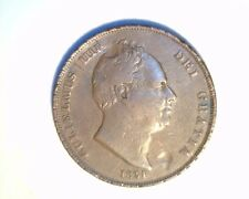 1831 Great Britain, One Penny, High Grade Circulated Copper (UK-309)