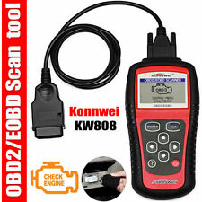 KW808 OBD2 OBDII EOBD Scanner Car Code Reader Tester Diagnostic Scan Interf