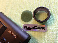 LENS CAP FILM CLEAR GLASS GUARD+POLARIZER FILTER for Sony HDR-AZ1 HDRAZ1 CAMERA
