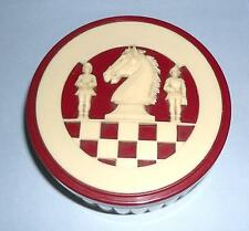 ideal gift small European German chess pieces vintage retro Bakelite?