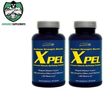 2 x MHP Xpel High Potency Diuretic | Green Tea Extract | Hydroxycut | AQX | C4