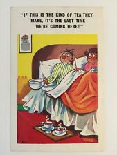 Vintage Comic Postcard - Constance Ltd Signed TROW  # C 809 - Posted 1975