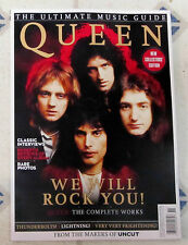 UNCUT 122 Page QUEEN Ultimate Music Guide RARE PHOTOS Complete Works CLASSIC New