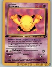 2000 pokemon Team Rocket 1st edition Drowzee 54/82