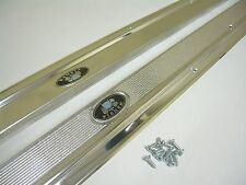 1962-1967 Chevy Nova Convertible Door Sill Plates Pair X-Body Chevy II Pair
