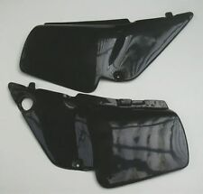 Honda MT5 MT8 50 80 Seitendeckel schwarz side-panels Paris-Dakar black NEU !
