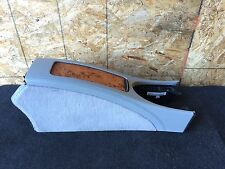 MERCEDES BENZ OEM W211 E CLASS CENTER MIDDLE CONSOLE WOOD STORAGE ARMREST PADS