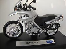 Welly 1:18 12146PW BMW F650 GS  suberb detail
