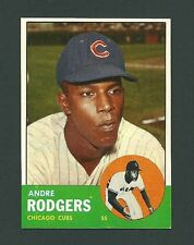 Andre Rogers Chicago Cubs 1963 Topps Card #193