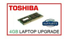 4GB Memory Ram Upgrade for Toshiba Satellite C850 (all models) Laptop