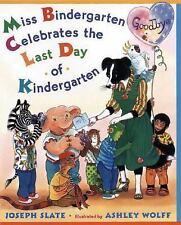 Border Collie Children's Book Miss Bindergarten Celebrates Last Day Kindergart