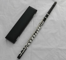 Professsional SR Brand Grenadilla Ebony Wood Wooden Alto Flute G key With Case