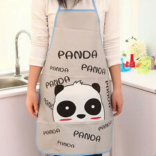 Women Waterproof Cartoon Kitchen Cooking Bib Apron US