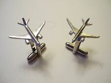 Boeing 787 Dreamliner c129 Pair - Cufflinks Made From Fine English Modern Pewter