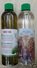 Anointing oil and Holy water from blessed Jordan river 300ml,10.14 Oz