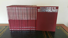 PURNELL'S History of the Second World War Entire Collection 24 Volumes Hardcover