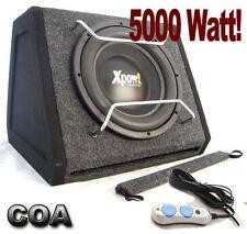 CASSA SUBWOOFER con AMPLIFICATORE INTEGRATO IL PIU' POTENTE DA 5000 Watt !!!!!
