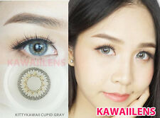 Contact Lenses Color Soft Big Eyes Cosmetic UV Protection Lens Cupid Gray