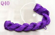 28m Nylon Chinese Knot Cord Thread For Braided Bracelet 1mm Dia free post Q40