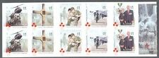 Australia-Vietnam War-Military-self-adhesive booklet mnh 2016 Oct