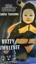 Buzzy Bumblebee Bumble Bee Animal Fancy Dress Up Halloween Toddler Child Costume