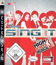 Playstation 3 HIGH SCHOOL MUSICAL 3 SING IT * HIGHSCHOOL Gebraucht Top Zustand