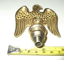 "3"" brass eagles for old coffee grinders, clocks, lamps"