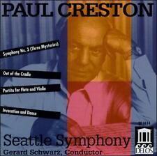 Paul Creston: Symphony No.3 / Partita for Flute, Violin & Strings, Op Ex-library