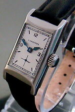 VTG 1935 LONGINES SS MILITARY CALIBER: 25.173 MENS WATCH SECOND AT SIX