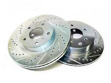 PHASE 2 P2M FRONT BRAKE ROTORS DISCS FOR 89-98 NISSAN 240SX S13 S14 W/O ABS