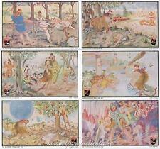 Figurine Lavazza serie n°4 Le Fatiche d'Ercole II ANNO 1949 Chromo