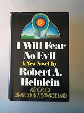 I WILL FEAR NO EVIL - Signed by Heinlein - 1st Edition - (1970 Hard Cover) Rare