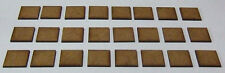2mm MDF bases 20mm x 20mm pack of 24 for Black Powder or Hail Caesar