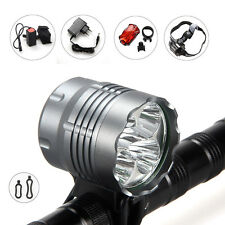 7000Lm 5x CREE XML T6 LED Head Phare falot velo Lampe Frontale Tactique Headlamp