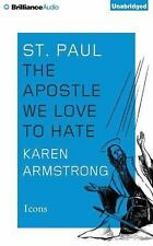 Icons: St. Paul : The Apostle We Love to Hate by Karen Armstrong (2015, CD,...
