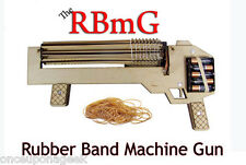 RBMG Power Shoot Rubber Band Machine Gun - Rapid Fire - Ultimate Office Warfare