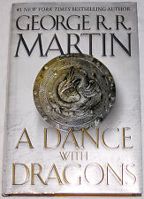 George R.R. Martin A Dance with Dragons Game of Thrones 5 HC 1st Ed 1st Print NF