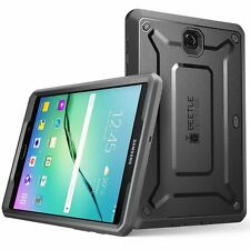 Galaxy Tab S2 9.7 Case, SUPCASE [Heavy Duty] Case for Samsung Gal (Black/Black)