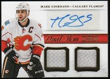 MARK GIORDANO 2014 NATIONAL TREASURES DUAL JERSEYS & CERTIFIED AUTUGRAPH