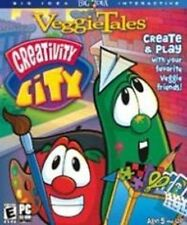 VeggieTales Creativity City  design and print your own creations -- even games
